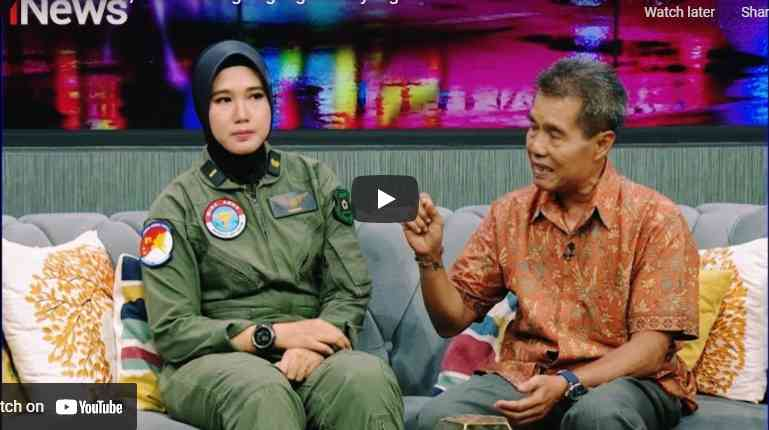 Kisah Inspiratif Ladiba Anak Tukang Jagung Bakar yang jadi Pilot Wanita TNI AD